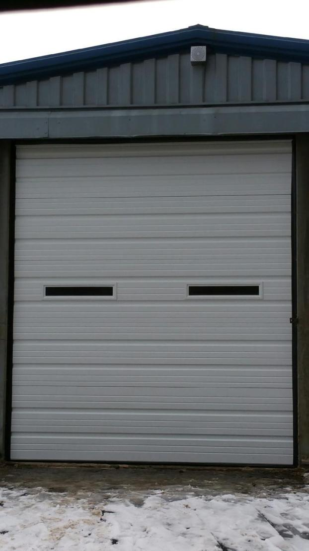 Shed garage door