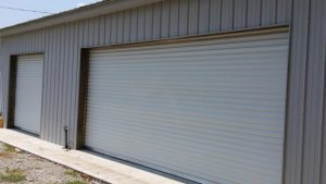 Shed garage doors