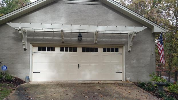 Overhead garage door by All-American Overhead