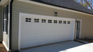 Residential Garage Door with Windows