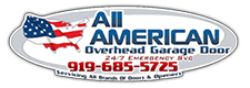 All American Overhead Garage Door Logo