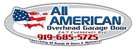 Delicieux All American Overhead Garage Door Logo ...